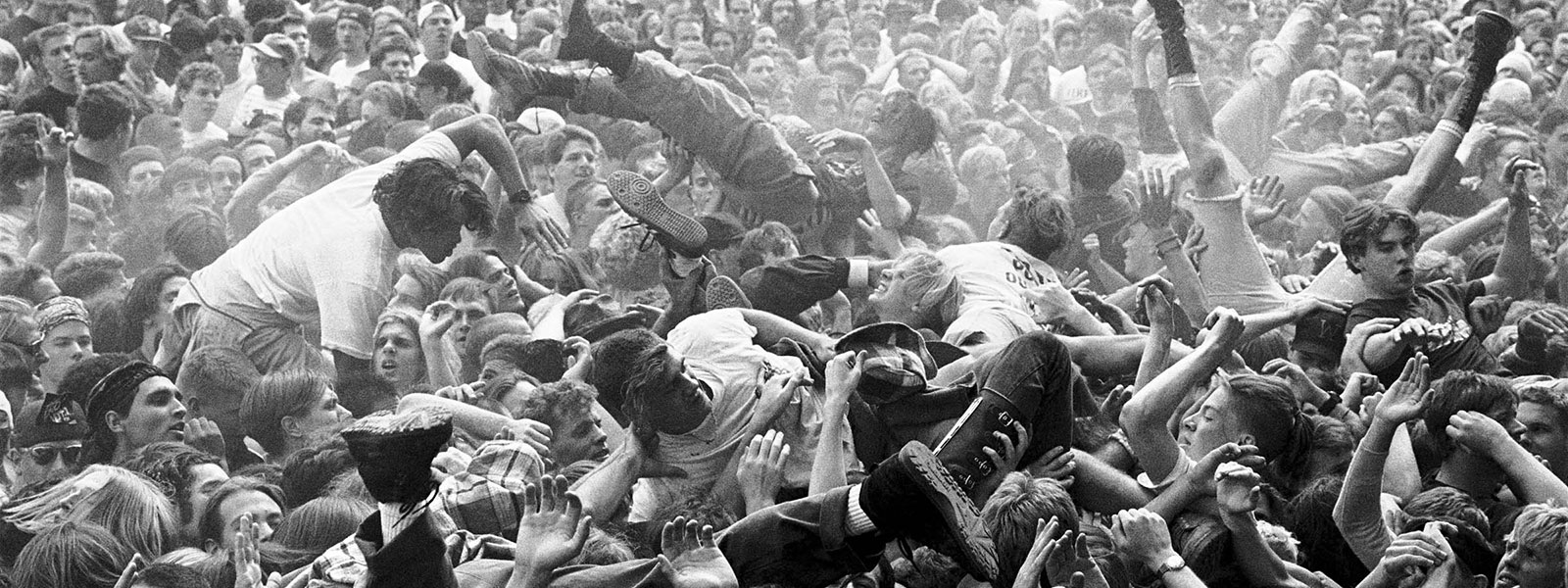 Mosh pit at EndFest.